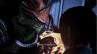 Mass Effect 3 - Wrex confrontation - all dialogue