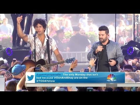 Download Dan & Shay   |   Tequila (Live On TODAY, June 25, 2018) With Lyrics free