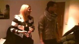 JLS teach Chrissy to dance