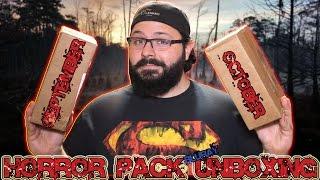 Horror Pack Bluray Unboxing #6 (September & October)   BLURAY DAN