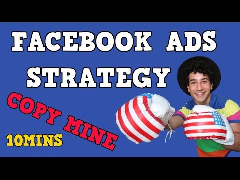 FACEBOOK ADS STRATEGY IN 10 MINUTES   NEW 2018 METHOD