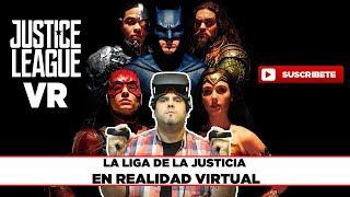 JUSTICE LEAGUE VR - Batman, Superman, Cyborg, Aquaman, Wonder Woman y Flash - GAMEPLAY EN ESPAÑOL