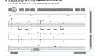 Sungha jung - First Step ( TAB ) songsterr