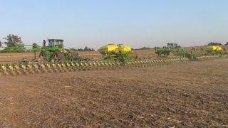 90 Rows of Corn Planted In One Pass