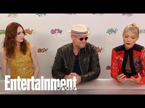 Michael Rooker Fell Asleep During Guardians Of The Galaxy Funeral | SDCC 2017 | Entertainment Weekly