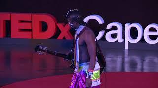 Ntombe Thongo performance   Ntombe Thongo   TEDxCapeTown