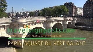 Discovering the Square du Vert-Galant and the Pont Neuf