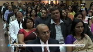 03 Samachar - MBC News Hindi Version - Launching of Gopio Quatre Bornes Mauritius