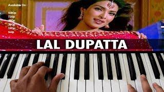 Laal Dupatta Piano/Keyboard Hindi Tutorial | Pianobajao