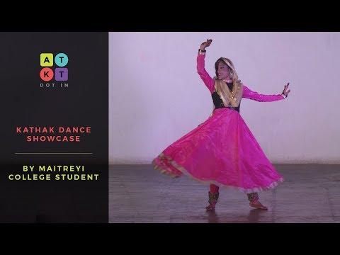 Xxx Mp4 Maitreyi College Girl S Graceful Kathak Routine Pulse 2017 3gp Sex