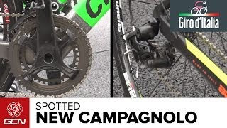 New Campagnolo Mechanical Groupset   Giro D'Italia 2014