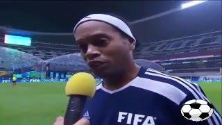 ملخص لمسات ابوتريكه واهداف مباراة نجوم العالم ونجوم المكسيك 8 9