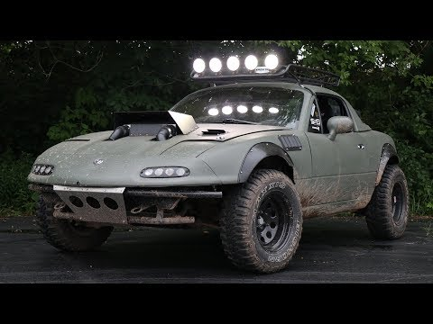 Building a Supercharged Offroad Miata in 6 Minutes