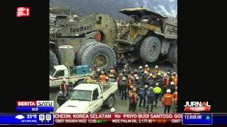 Truk Tambang Lindas Mobil Karyawan Freeport, Tiga Orang Tewas