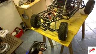 RC Car 1/3 Scale 1/3 Homemade RC Part 1 ( Monster RC )