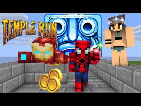 Xxx Mp4 Temple Run Spider Men Vs Iron Men Run For Cute Girl In Real Life Minecraft Animation 3gp Sex