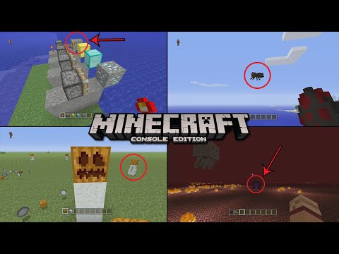 ✔ Minecraft | 10 Things You Didn't Know About Console Edition! [Xbox One/PS4]