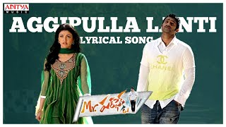 Aggipulla Lanti Full Song With Lyrics - Mr. Perfect Songs - Prabhas, Kajal Aggarwal, DSP