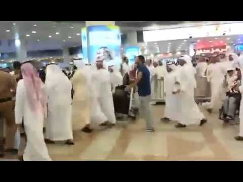 Fight in Kuwait Airport