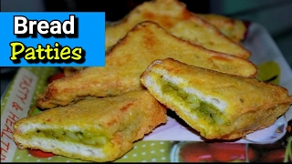 Bread patties Recipe in hindi | How To Make Potato Bread Pakora| Aloo Bread Pakora