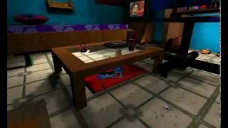 World of Padman custom map -  Dana's Room