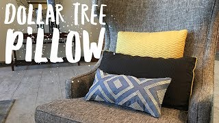 An Easy Way To Create An Amazing Decorative Pillow With Bling Wrap
