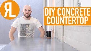 Make Your Own Concrete Countertop, It