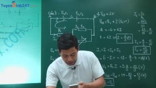 Đề thi học kì Vật lí 11 - Thầy giáo Phạm Quốc Toản