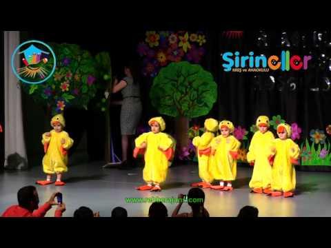Şirineller Anaokulu 2012 2013 Yılsonu Gösterisi Ördek Rondu