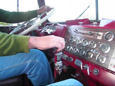 Shifting a 67 Kenworth 318 Detroit with Jake