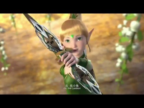 Coregate Studio   พากย์ไทย Dragon Nest Movie 2 Throne of Elves