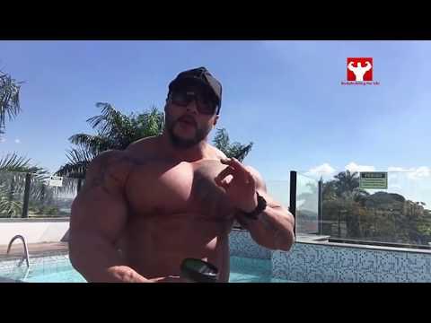 Real Life Brazilian Hulk - Bruno Moraes Motivation