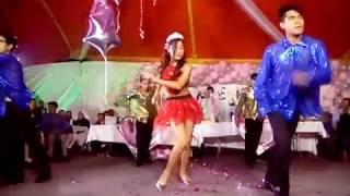 samba, salsa y cumbia America. Dans in die lug