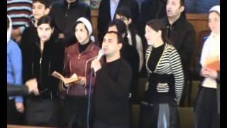 Христианский хор Цыган в  селе Стурзовка