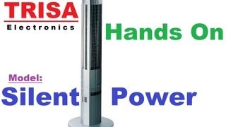Trisa Electronics Turm / Säulenventilator Silent Power Review Hands On German [Super HD View]