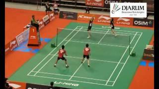 Tontowi Ahmad/Liliyana Natsir (INA) VS Hung Ling Chen/Wen Hsing Chen(TAIPEI)