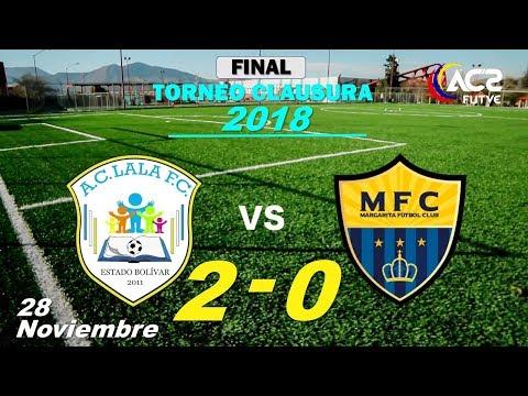 Xxx Mp4 FINAL Clausura 2018 Lala FC 2 – 0 Margarita FC 28 11 18 3gp Sex
