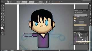 Making a Motion Graphic Guy Using Adobe Illustrator