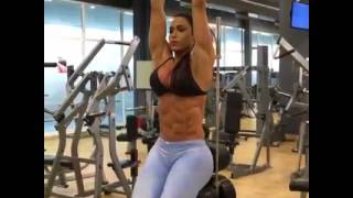 Female Fitness Motivation 💞🍔🍤 The Truth About Bikini Girls #bodybuilding girl motivation