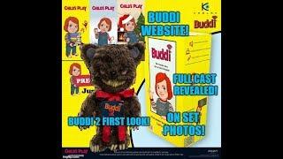 Child's Play Remake NEWS! Buddi Website - Buddi 2 the Bear -  Full Cast