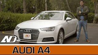 Audi A4 2017 - Liderazgo por tecnología, no es broma