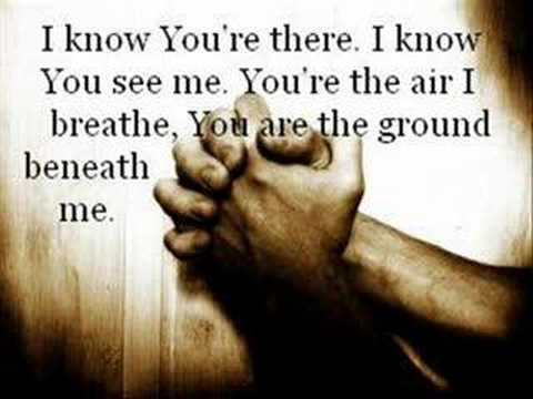 I Know You re There Casting Crowns