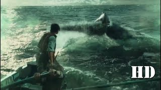 İn the heart of the sea : The Whale Hunting scene HD