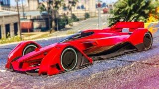 FASTEST STUNT CAR IN GTA 5! - (GTA V Stunts & Fails)