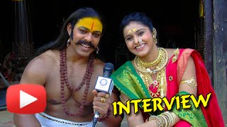 Devdatta Nage, Surabhi Hande - Candid Interview - Jay Malhar- Khanderaya & Mhalsa-Zee Marathi Serial