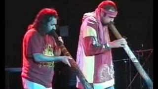 Corroborree -  Didgeridoo-Duo with Janawirri Yiparrka & Mark Atkins @Heidelberg Festival 1996