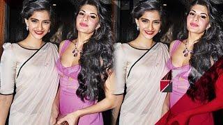Sonam Kapoor & Jacqueline Fernandez SPOTTED Without Make Up | Bollywood Gossip