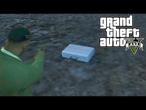 GTA 5: $25,000 Secret Briefcase Location!