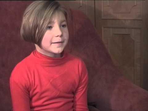 Интервью с Леной  8 лет