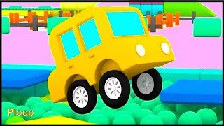 Cartoon Cars - PINKY POOL! - Children's Cartoons for Kids - Childrens Animation Videos for kids